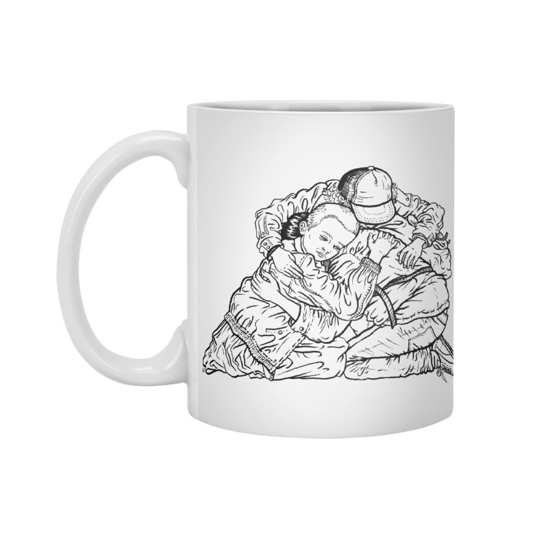 Stranger Things Accessories Mug by Laura OConnor's Artist Shop