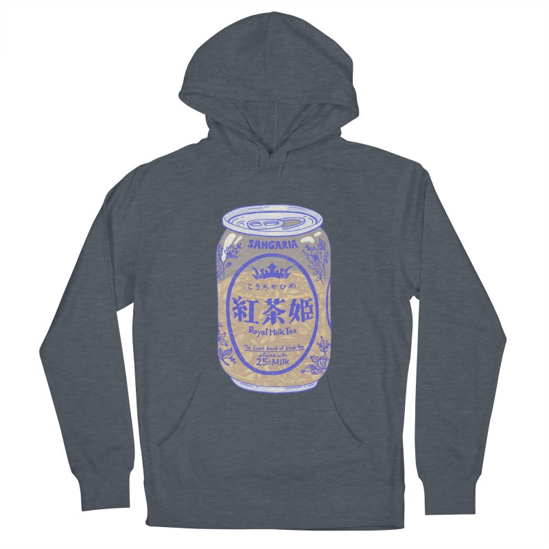 Royal Tea Men's French Terry Pullover Hoody by Laura OConnor