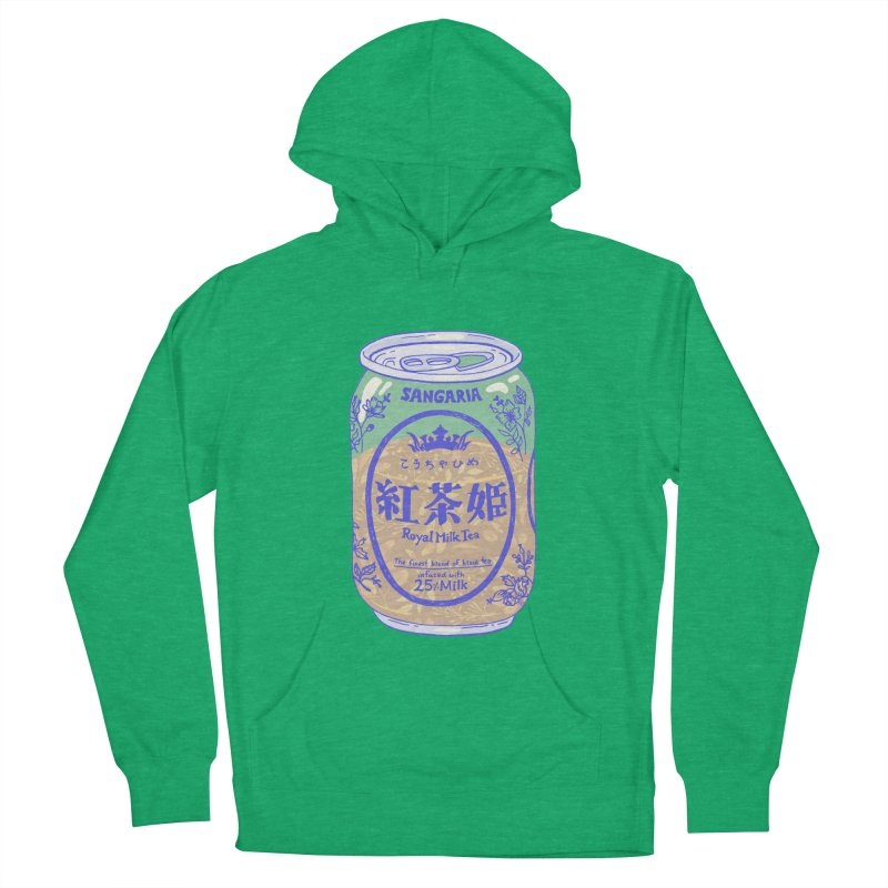 Royal Tea Men's French Terry Pullover Hoody by Laura OConnor's Artist Shop