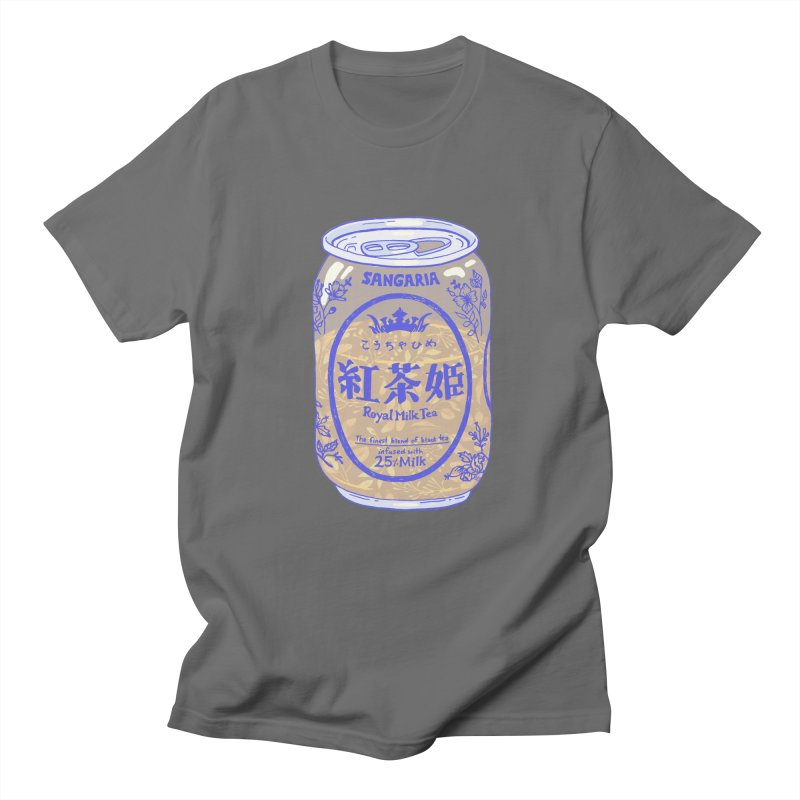 Royal Tea Men's T-Shirt by Laura OConnor