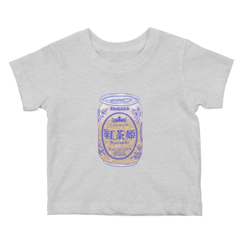 Royal Tea Kids Baby T-Shirt by Laura OConnor's Artist Shop
