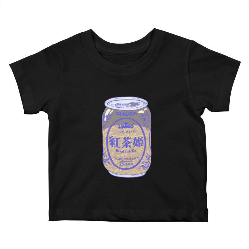 Royal Tea Kids Baby T-Shirt by Laura OConnor