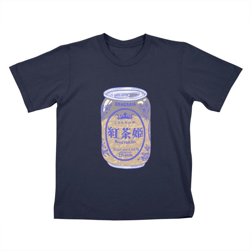 Royal Tea Kids T-Shirt by Laura OConnor