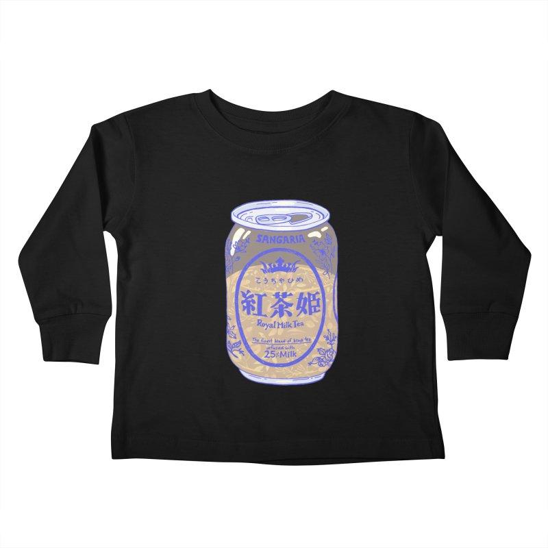 Royal Tea Kids Toddler Longsleeve T-Shirt by Laura OConnor's Artist Shop