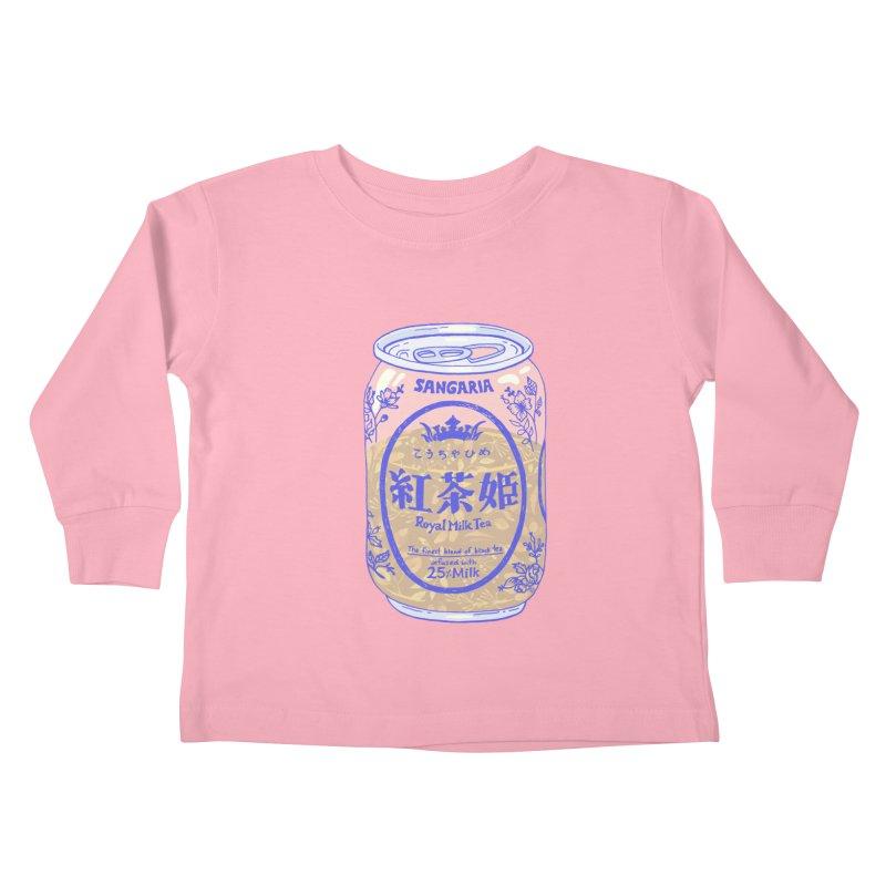 Royal Tea Kids Toddler Longsleeve T-Shirt by Laura OConnor