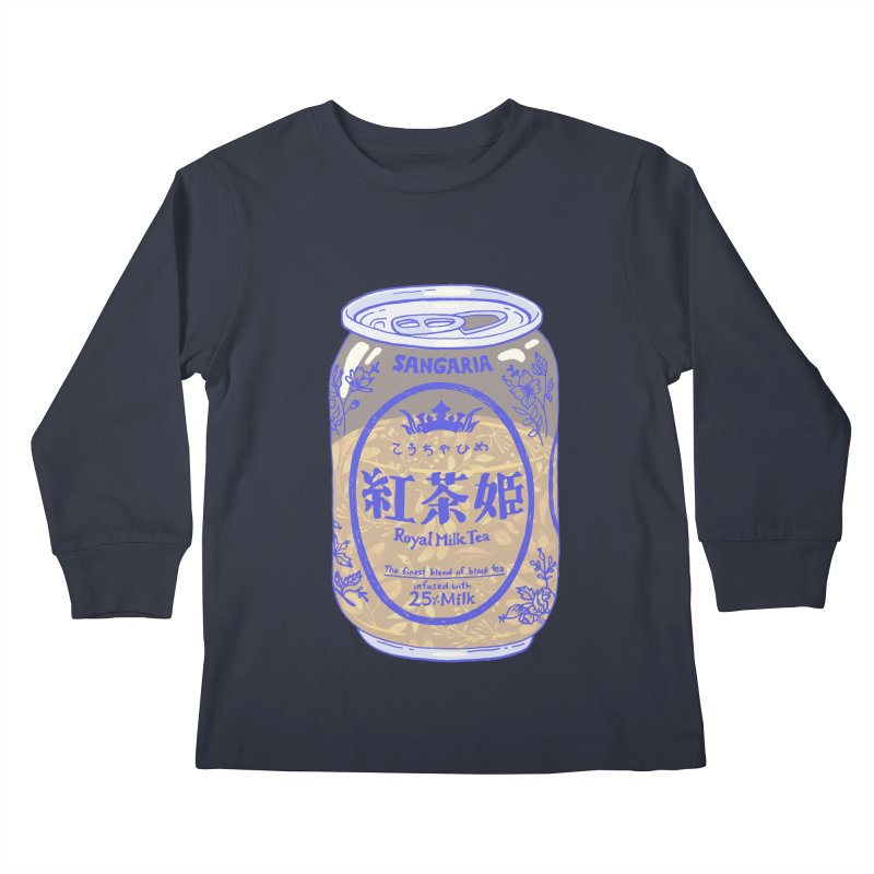 Royal Tea Kids Longsleeve T-Shirt by Laura OConnor