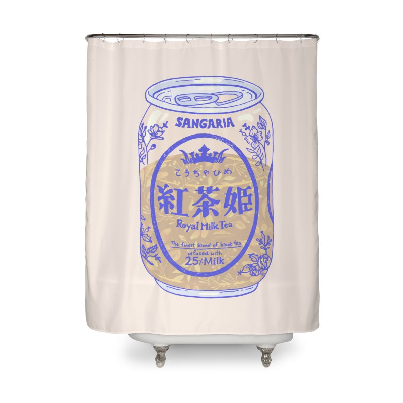 Royal Tea Home Shower Curtain by Laura OConnor
