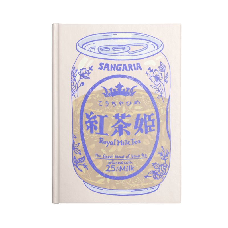 Royal Tea Accessories Notebook by Laura OConnor