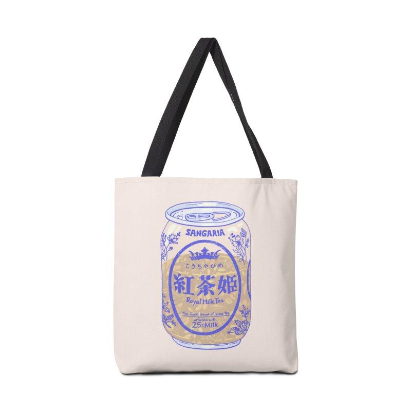 Royal Tea Accessories Bag by Laura OConnor