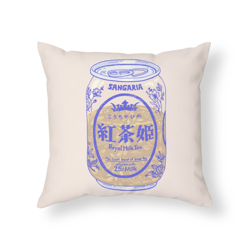 Royal Tea Home Throw Pillow by Laura OConnor