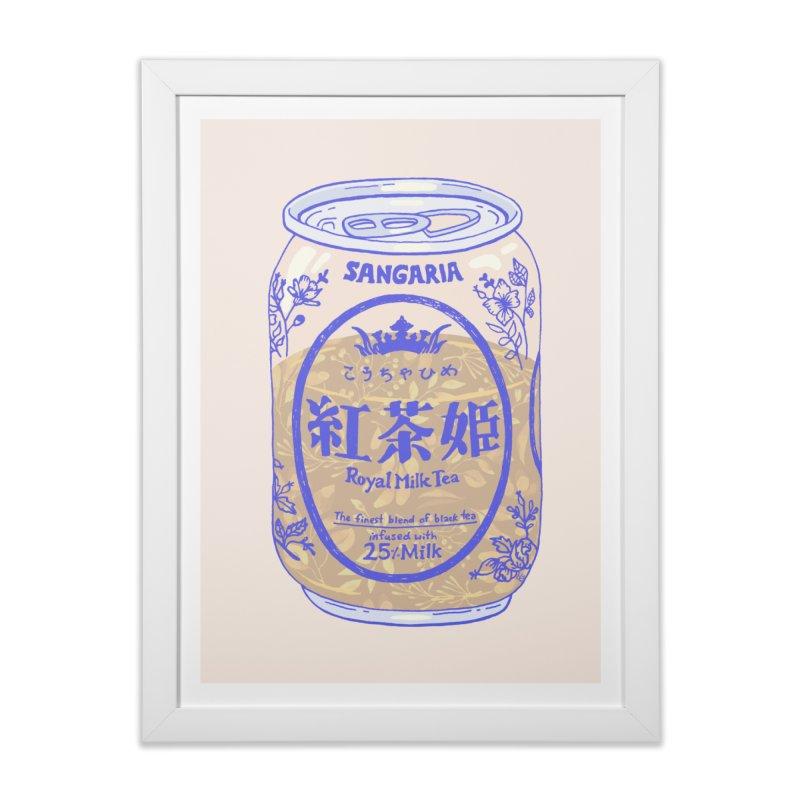 Royal Tea in Framed Fine Art Print White by Laura OConnor