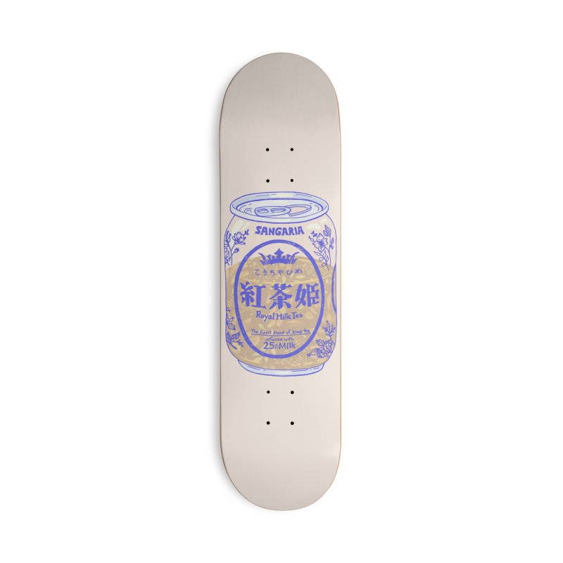 Royal Tea Accessories Skateboard by Laura OConnor