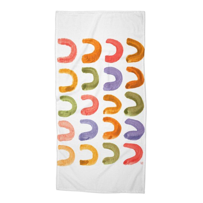 Fruit Loops Accessories Beach Towel by Laura OConnor