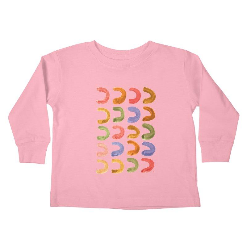 Fruit Loops Kids Toddler Longsleeve T-Shirt by Laura OConnor's Artist Shop