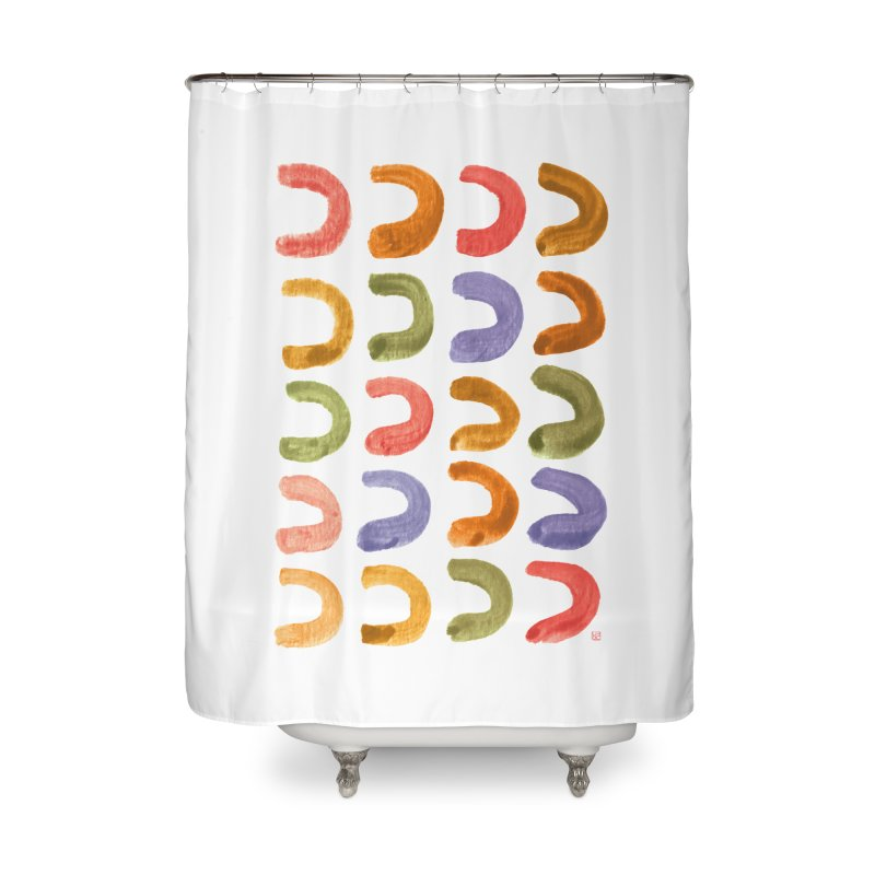 Fruit Loops Home Shower Curtain by Laura OConnor