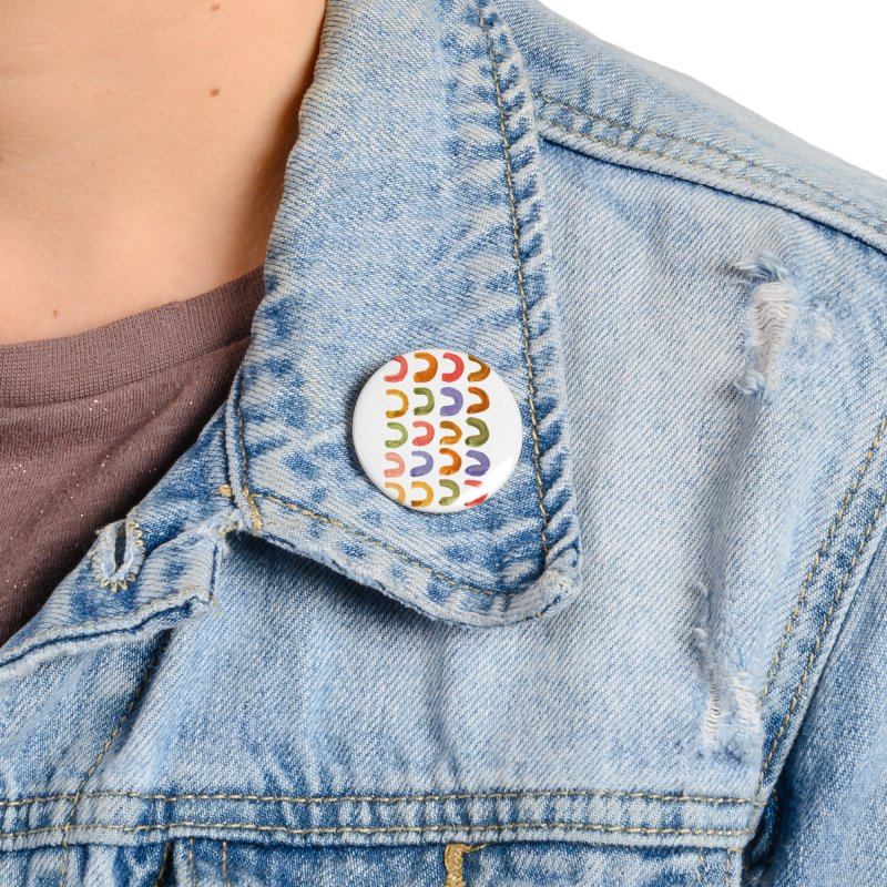 Fruit Loops Accessories Button by Laura OConnor
