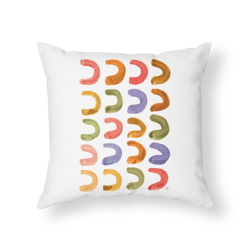 Fruit Loops Home Throw Pillow by Laura OConnor