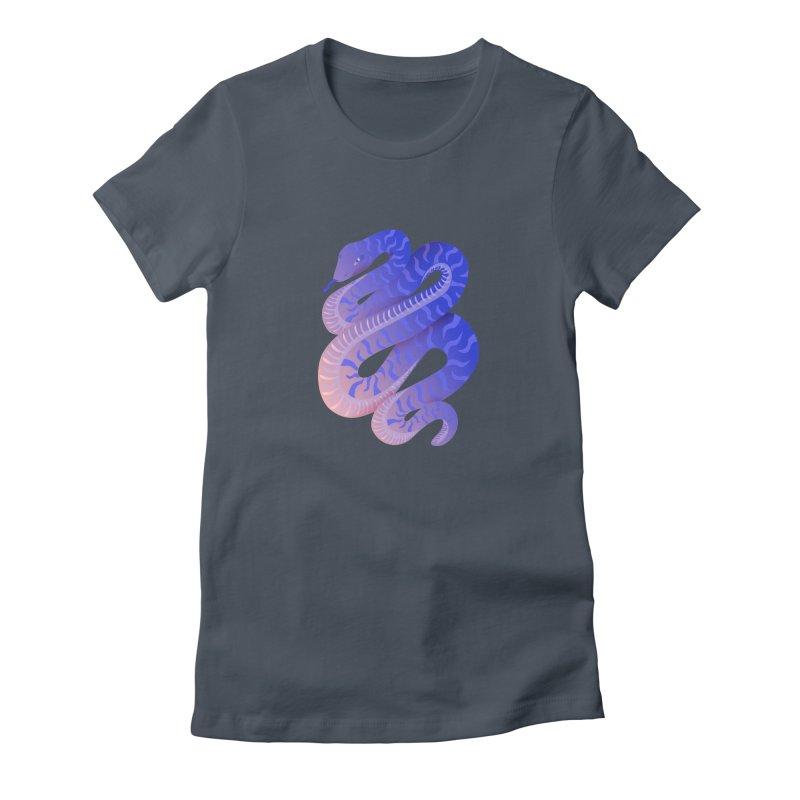 Serpent Women's T-Shirt by Laura OConnor