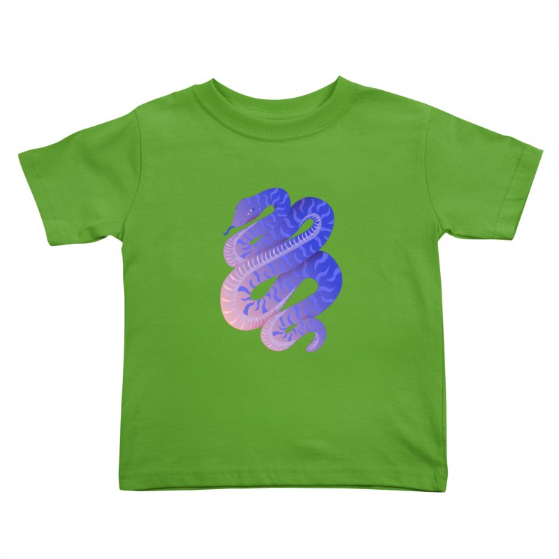 Serpent Kids Toddler T-Shirt by Laura OConnor
