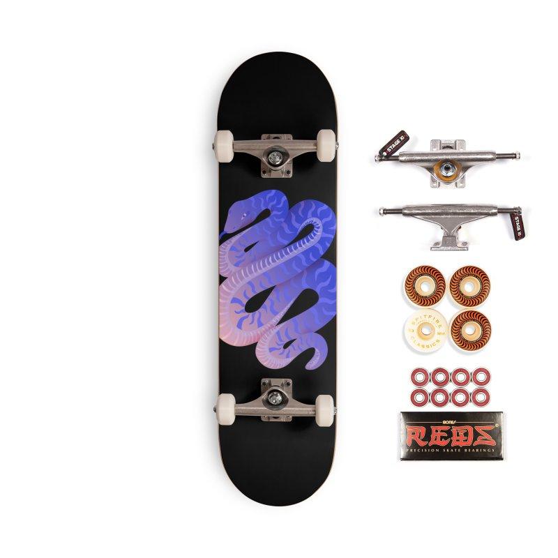 Serpent Accessories Skateboard by Laura OConnor