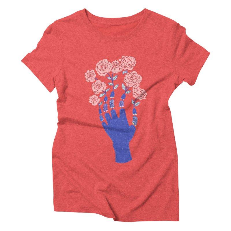 Grow Women's Triblend T-Shirt by Laura OConnor