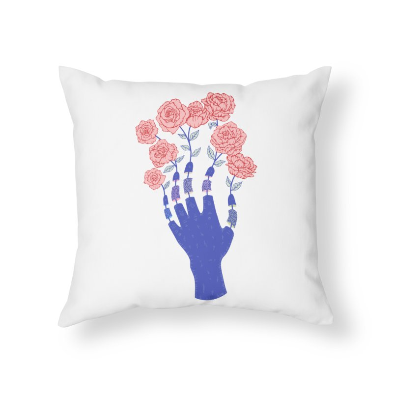 Grow Home Throw Pillow by Laura OConnor