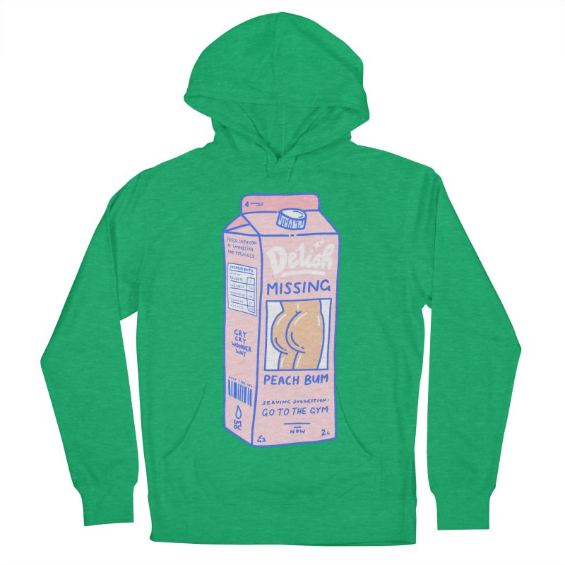 Missing Men's French Terry Pullover Hoody by Laura OConnor
