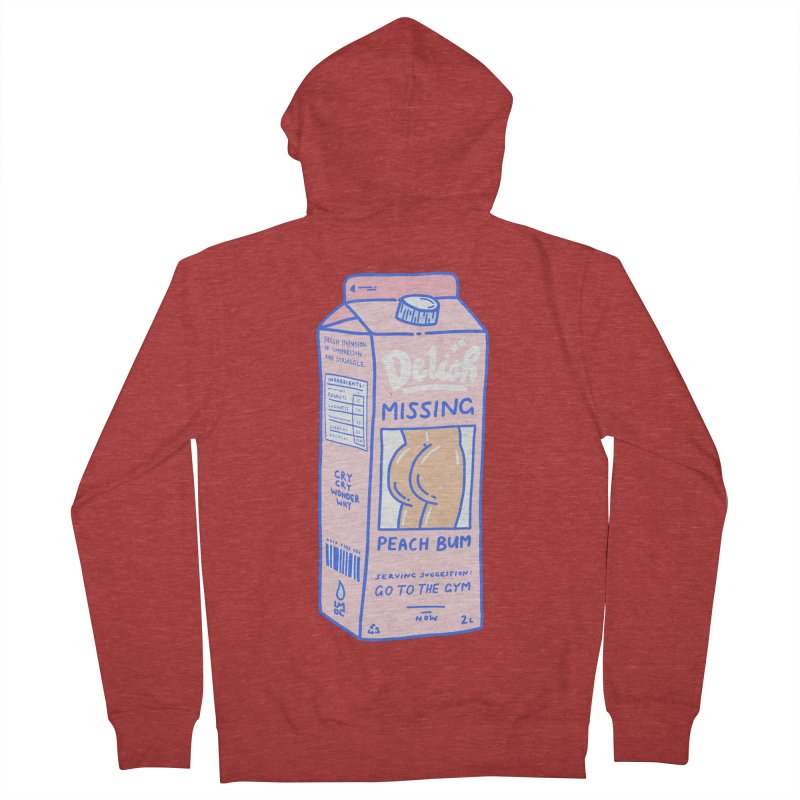 Missing Men's French Terry Zip-Up Hoody by Laura OConnor