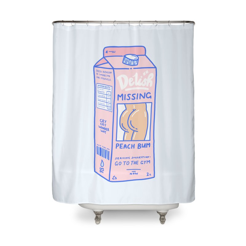 Missing Home Shower Curtain by Laura OConnor