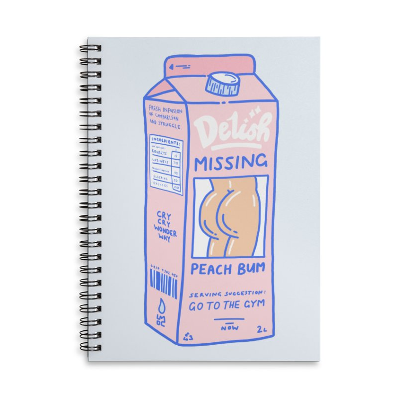 Missing Accessories Notebook by Laura OConnor