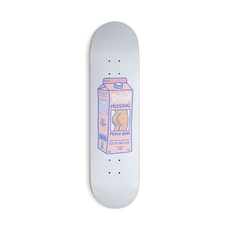 Missing Accessories Skateboard by Laura OConnor