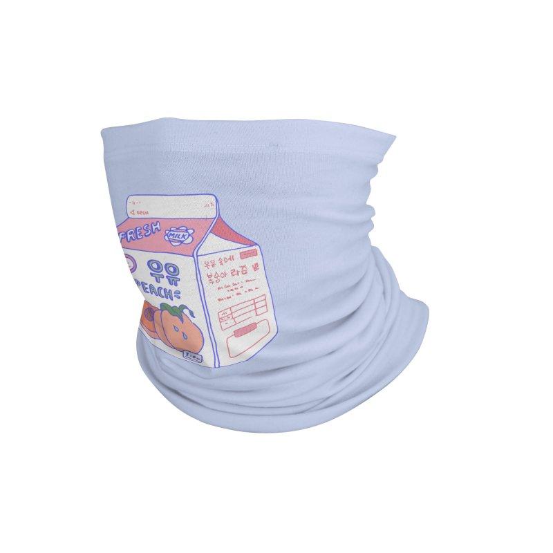 Peach Milk Accessories Neck Gaiter by Laura OConnor