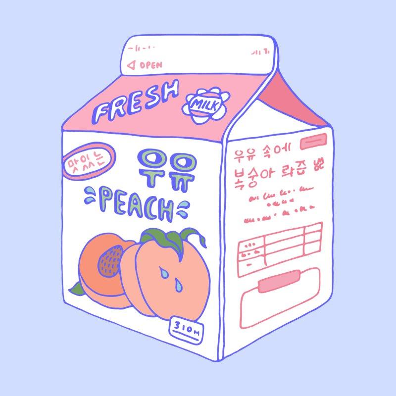 Peach Milk Men's Pullover Hoody by Laura OConnor