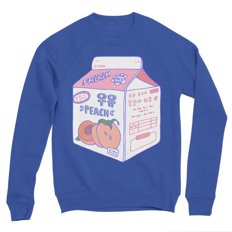 Peach Milk Women's Sweatshirt by Laura OConnor