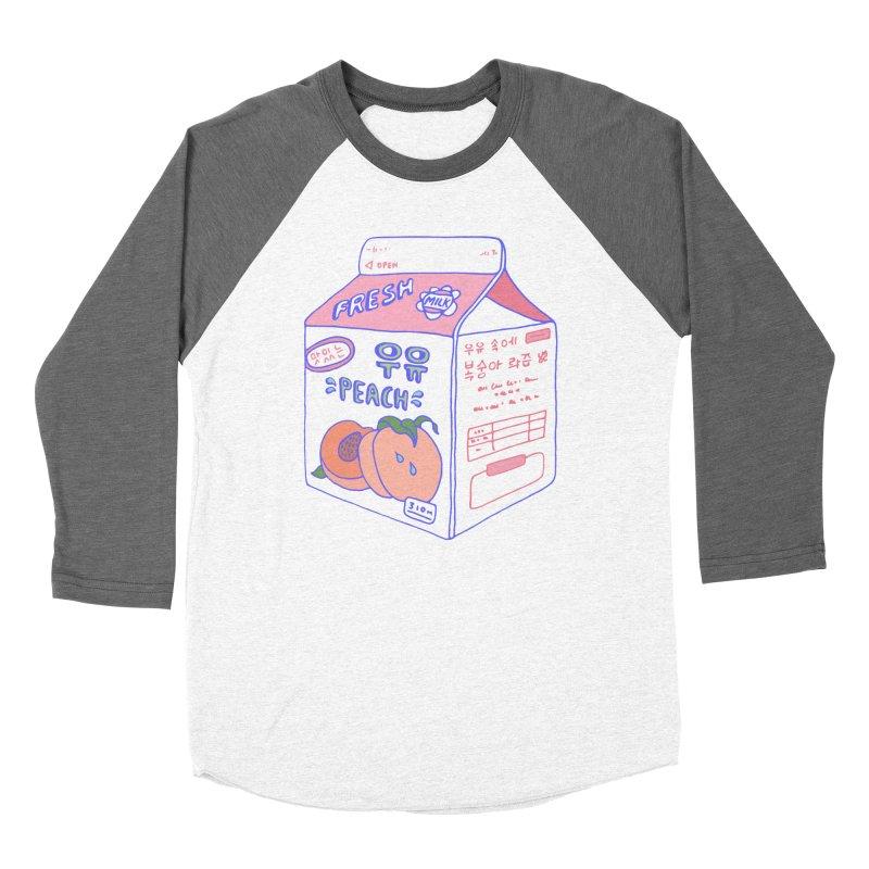Peach Milk Women's Longsleeve T-Shirt by Laura OConnor