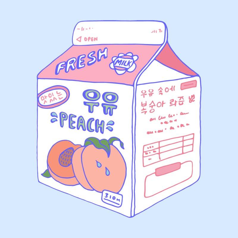 Peach Milk Home Rug by Laura OConnor