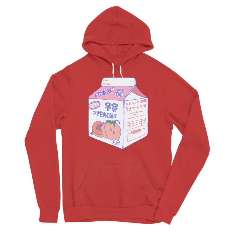 Peach Milk Men's Pullover Hoody by Laura OConnor