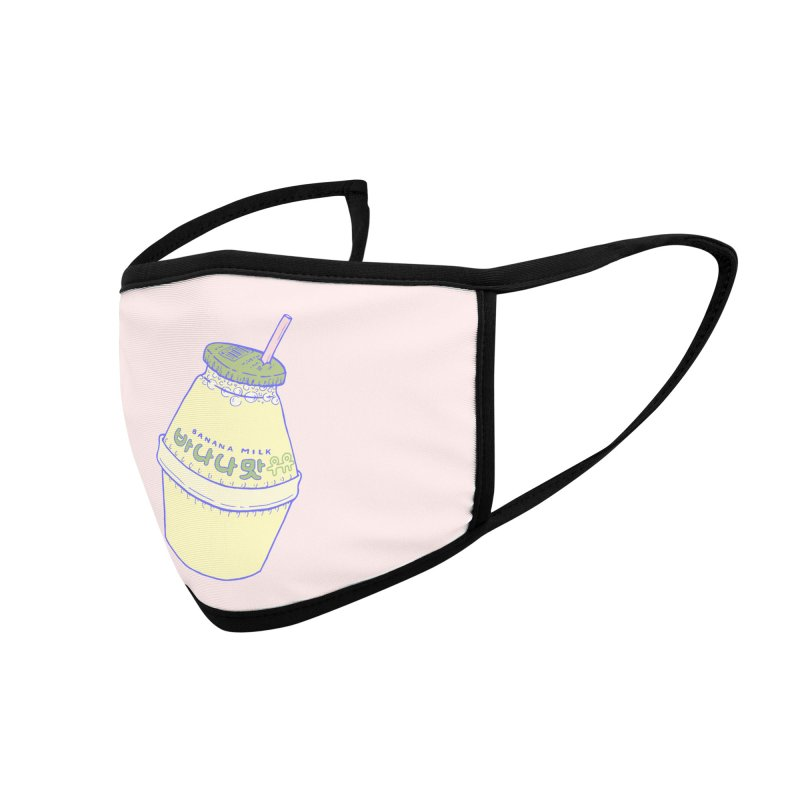 Banana Milk Accessories Face Mask by Laura OConnor