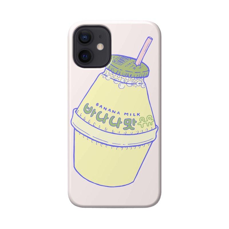 Banana Milk Accessories Phone Case by Laura OConnor