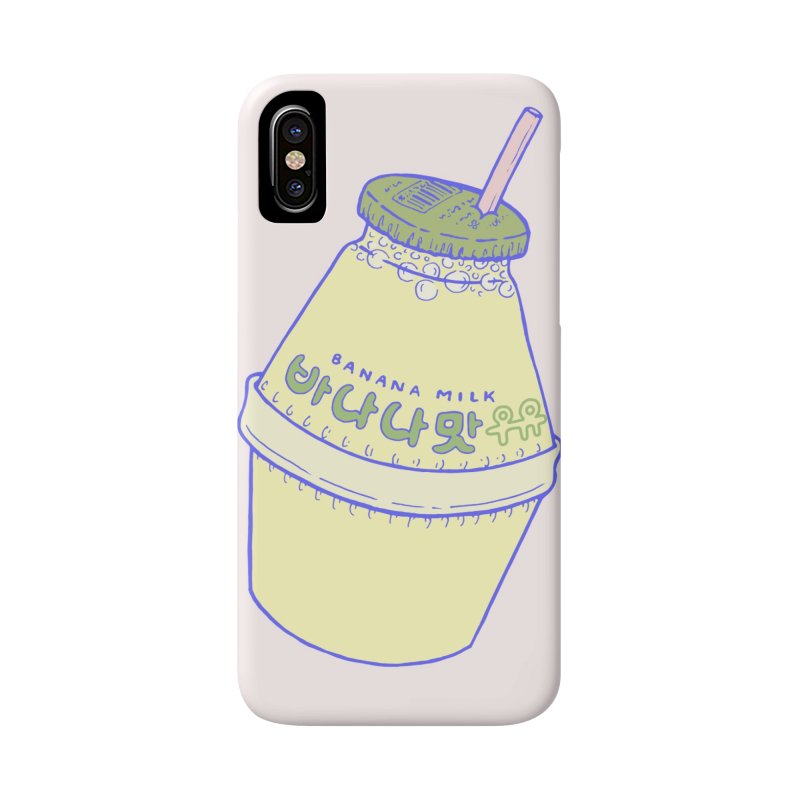 Banana Milk Accessories Phone Case by Laura OConnor's Artist Shop