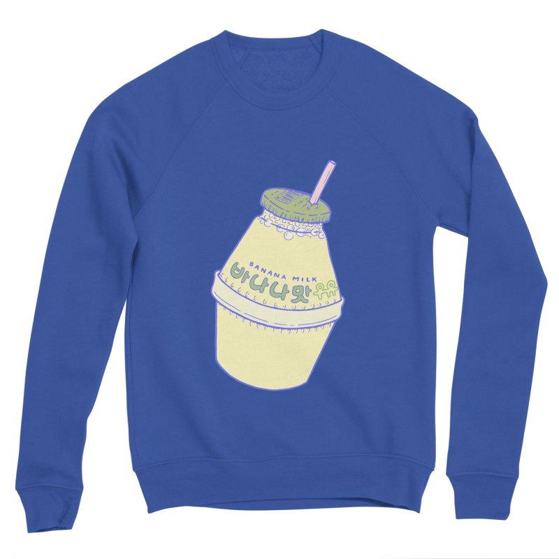 Banana Milk Men's Sweatshirt by Laura OConnor