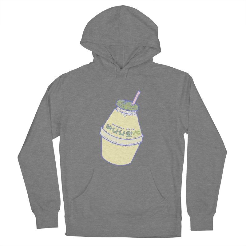 Banana Milk Women's Pullover Hoody by Laura OConnor