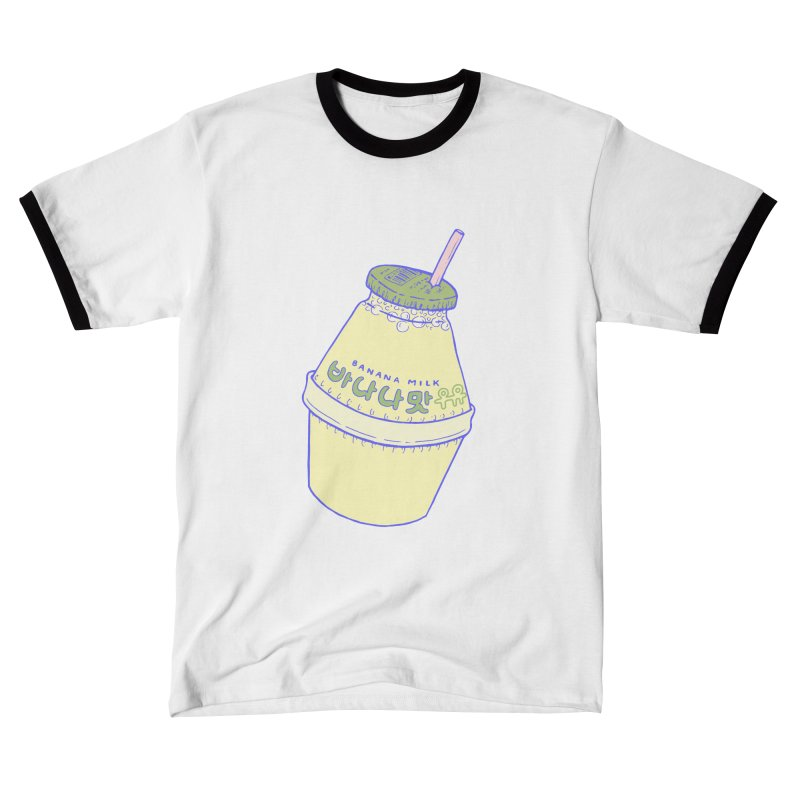 Banana Milk Men's T-Shirt by Laura OConnor