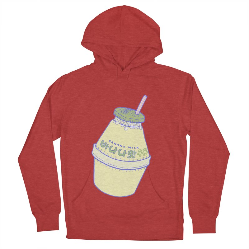 Banana Milk Men's French Terry Pullover Hoody by Laura OConnor