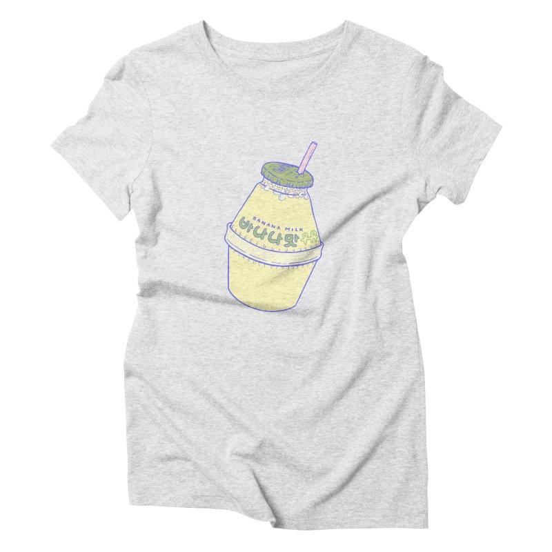 Banana Milk Women's T-Shirt by Laura OConnor