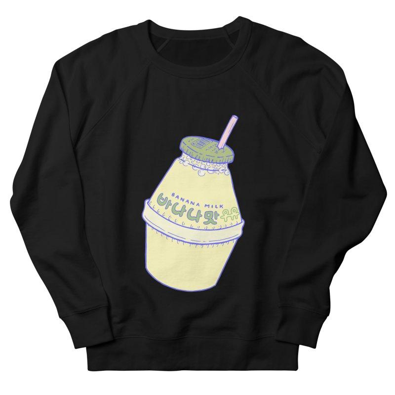 Banana Milk Women's French Terry Sweatshirt by Laura OConnor