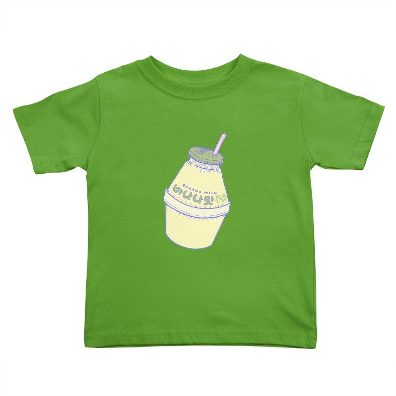 Banana Milk Kids Toddler T-Shirt by Laura OConnor