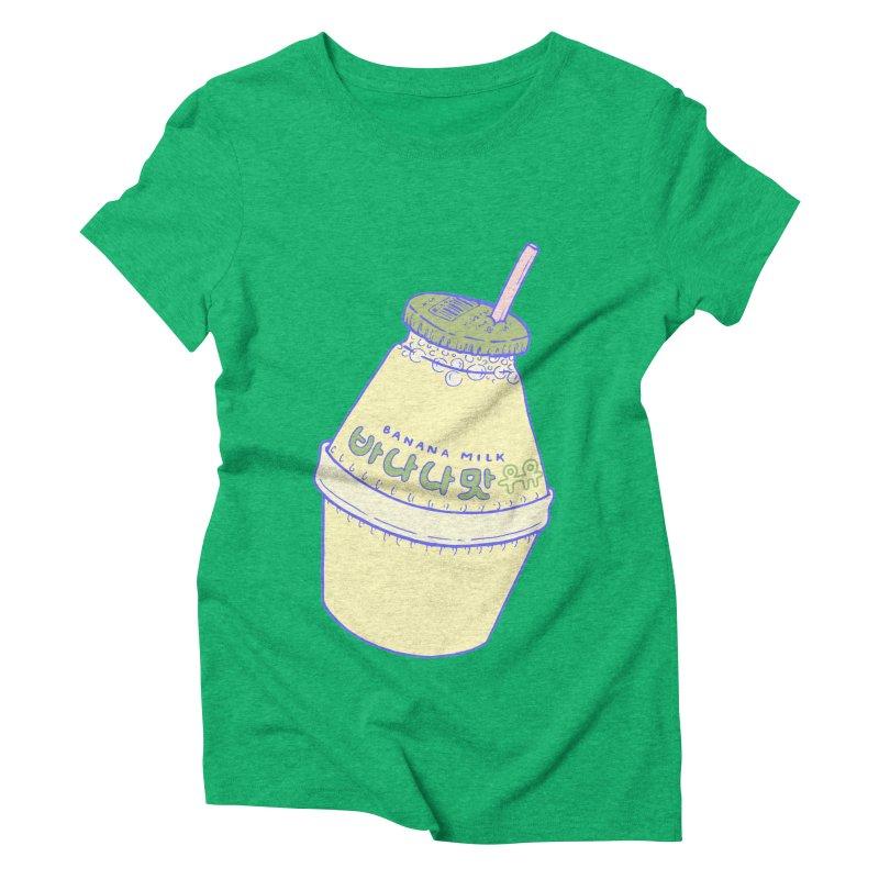 Banana Milk Women's Triblend T-Shirt by Laura OConnor