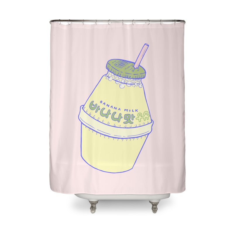 Banana Milk Home Shower Curtain by Laura OConnor