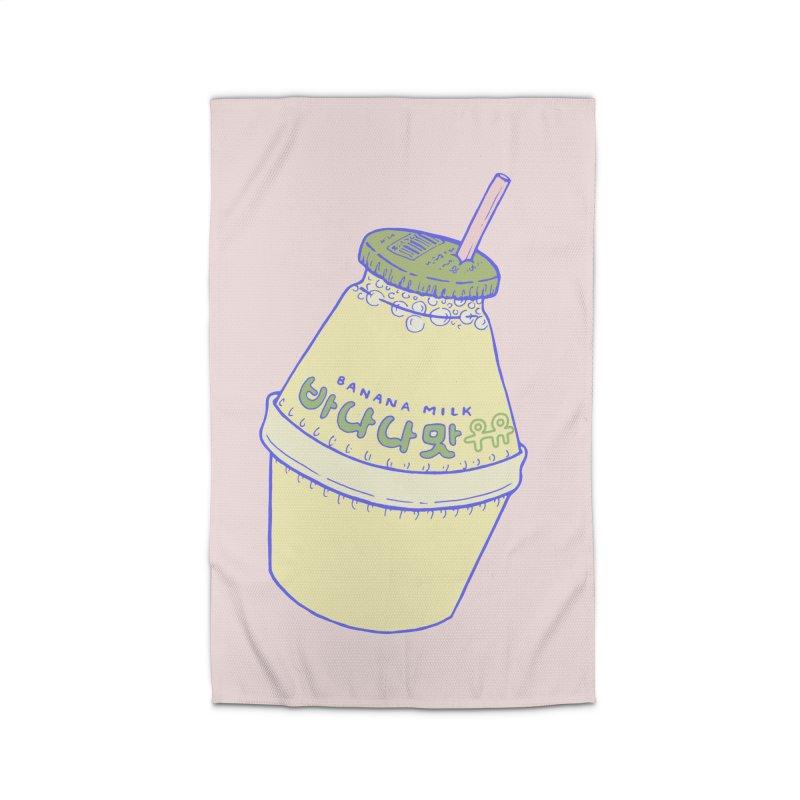 Banana Milk Home Rug by Laura OConnor